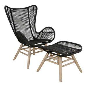 fotele z podnóżkiem