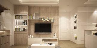 zastosowanie szafy przesuwnej w salonie