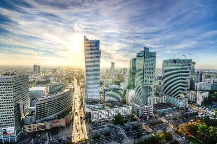 Jakie są największe strefy biurowe Warszawy